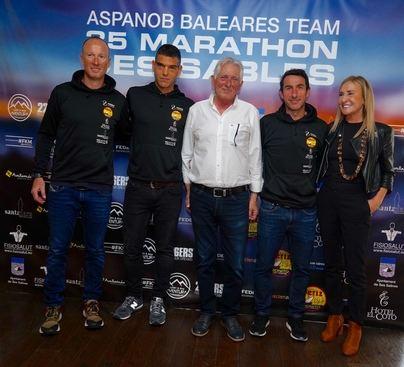 Tomeu Llompart, Pep Sbert y Miguel Avellaneda correrán la Maratón des Sables a favor de Aspanob