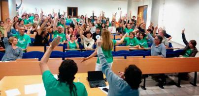 Los docentes descartan desconvocar la huelga antes del nuevo Govern