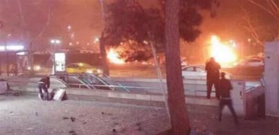 Atentado terrorista en Ankara (Turquía)