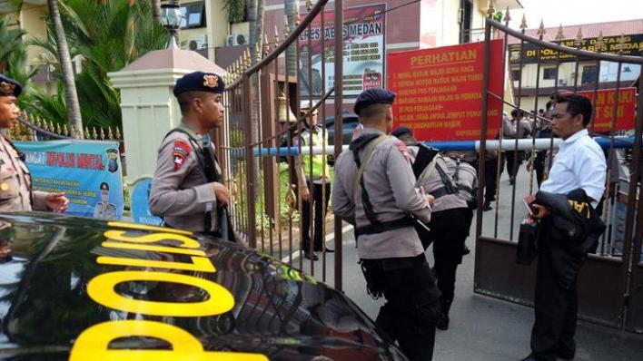 Ataque terrorista en Indonesia