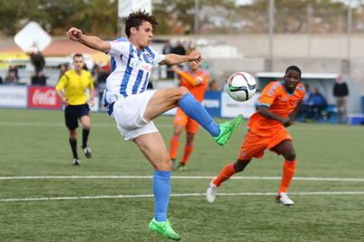 Un buen empate del Atlètic Balears ante un buen rival (1-1)