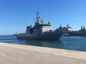 El Audaz ya está en Lampedusa