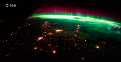 Detectan grandes auroras por la alta actividad solar