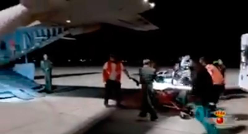 El Ejército de Aire traslada a Madrid a un recién nacido en Son Espases en estado crítico