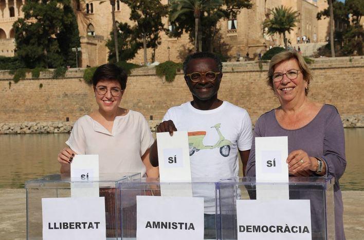 Balboa: 'La autodeterminación es el mejor instrumento para resolver las demandas del pueblo'