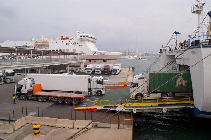 El déficit comercial de Baleares supera los 29 millones de euros en el primer trimestre