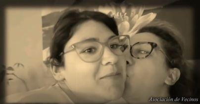 Besos confinados, desde s'Arenal