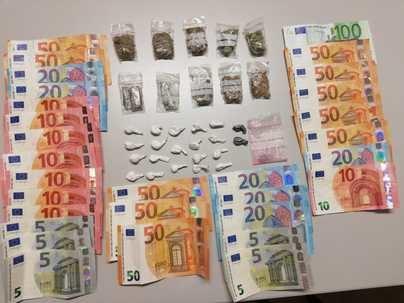 Cuatro detenidos en playa de Palma por trafico de drogas y robos con violencia a turistas