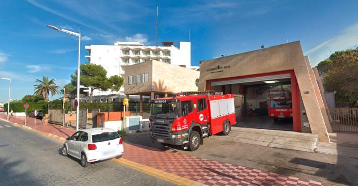 El parque de bomberos de Playa de Palma cierra 8 horas por falta de personal