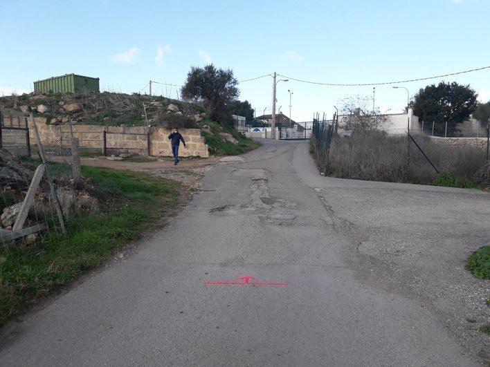 Reasfaltan el camino al punto verde de s'Aranjassa a petición de los vecinos