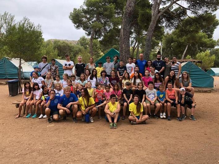 Los jóvenes con diabetes de Baleares de campamento en La Victoria
