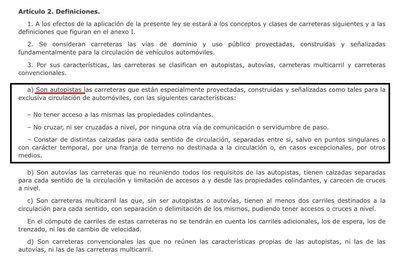 La Plataforma califica de 'engaño a la ciudadanía' la reducción del ancho de la autopista de Campos