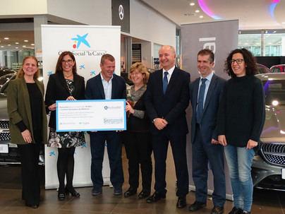 El grupo Autovidal dona 10.000 euros a Càritas Diocesana de Mallorca