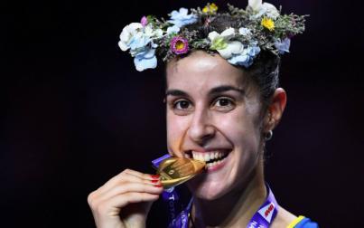 Carolina Marín logra su tercer Mundial: 'Esta medalla es muy especial'