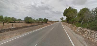 El accidente ha tenido lugar en la carretera de Sineu