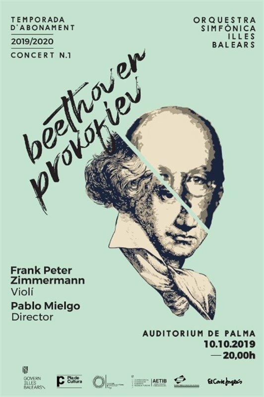 Frank Peter Zimmermann inicia el primer concierto de temporada de la Sinfónica