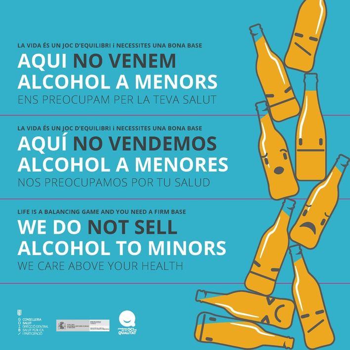 Los empresarios se alían contra la venta de alcohol a menores