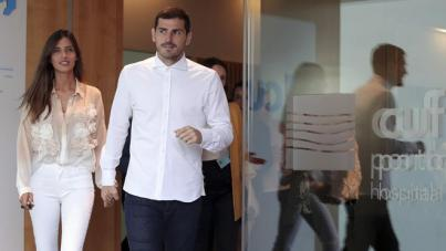 Iker Casillas, entre 6 y 8 semanas de baja
