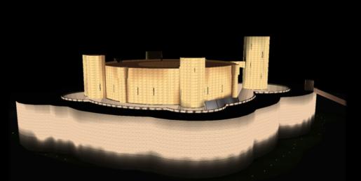 ARCA, arquitectos y vecinos rechazan la nueva iluminación de la Seu y el Castell de Bellver