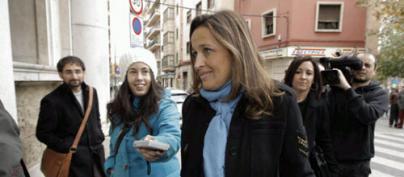 Aina Castillo, ante el juez