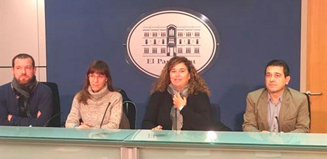 Texto de PSIB, Més y Podem para que el catalán vuelva a ser requisito