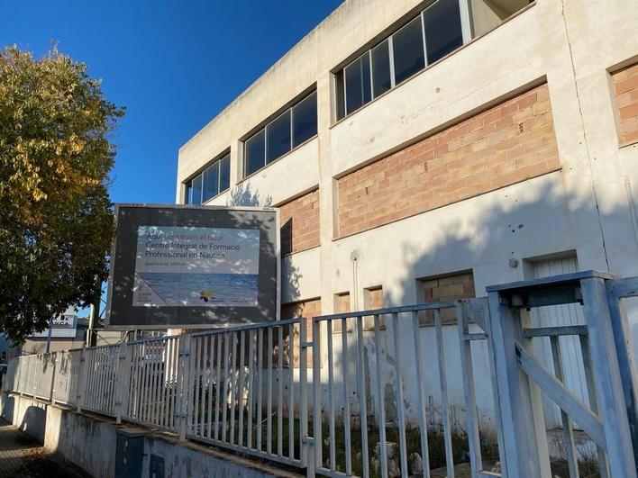El futuro centro de formación de náutica de Son Castelló, abandonado