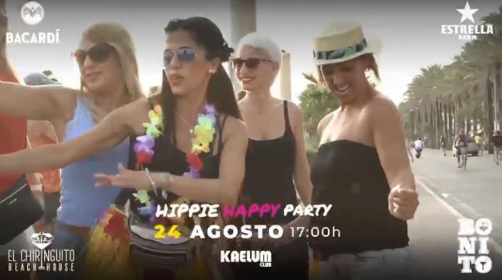 Música, cocktails y 'flower power': llega la Hippy Happy Party a Playa de Palma