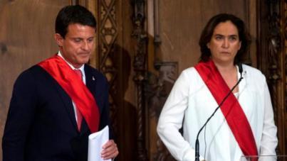 Ciudadanos rompe con Valls en el Ayuntamiento de Barcelona por su apoyo a Colau