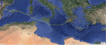 La tortuga Colomera llega a Grecia