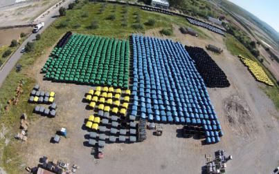 Emaya renueva 280 contenedores de basura de distintos barrios de Palma
