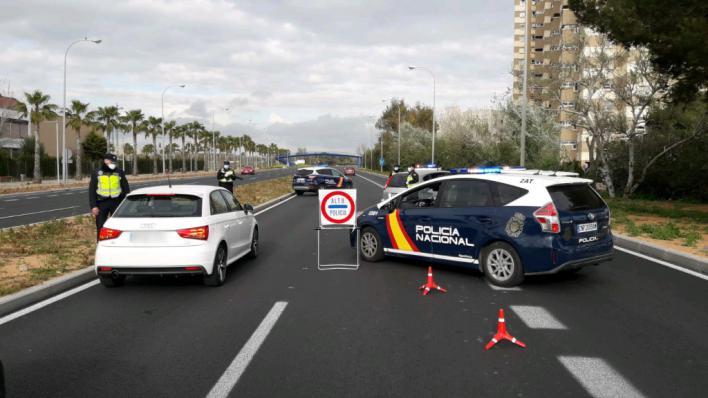 Endurecimiento de los controles policiales en Baleares: 'La gente se está relajando demasiado'