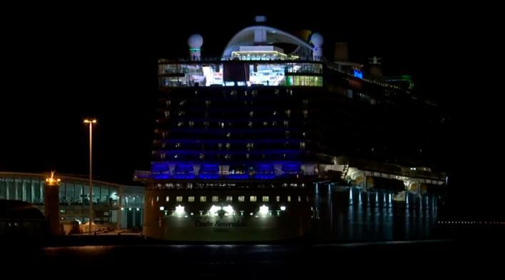 Descartado el coronavirus de la pasajera del crucero que hizo escala en Palma