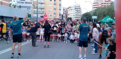 800 niños participan en la III Cursa de Reis
