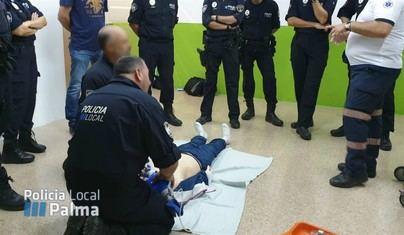 La Policía Local de Palma realiza un curso de reanimación