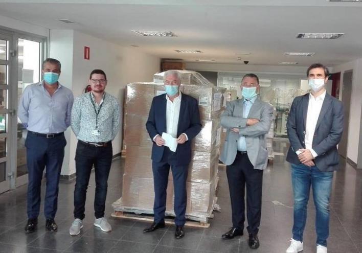 Asociaciones del sector del juego donan pantallas protectoras y mascarillas quirúrgicas al IBSalut