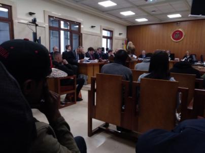 Los 17 acusados de vender droga en Punta Ballena niegan los cargos