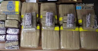 Tres detenidos por vender droga en Palma, Sencelles y Marratxí