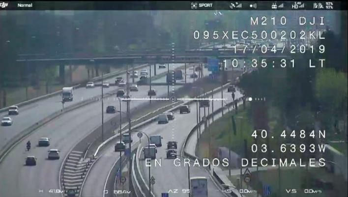 Sin drones para vigilar las carreteras de Baleares hasta final de año