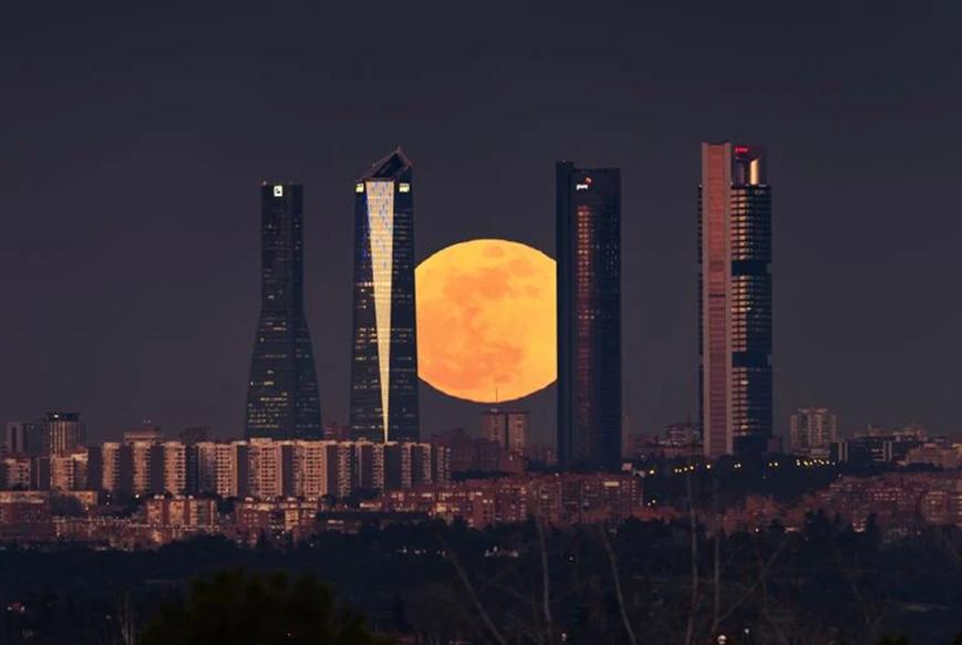 El eclipse lunar penumbral de este viernes será visible desde España