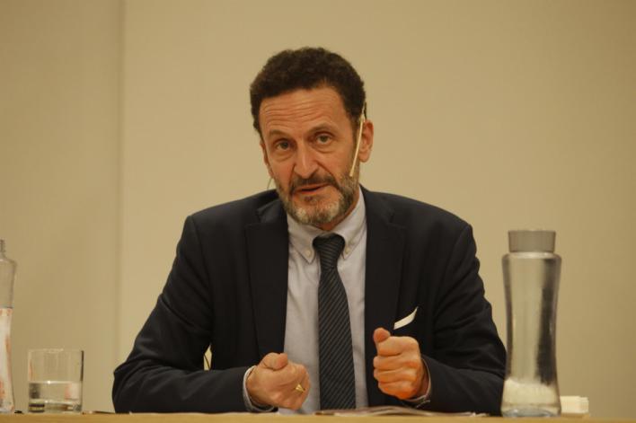 Edmundo Bal a los políticos independentistas: 'Si no quieren entrar en la Ley, habrá que obligarlos'