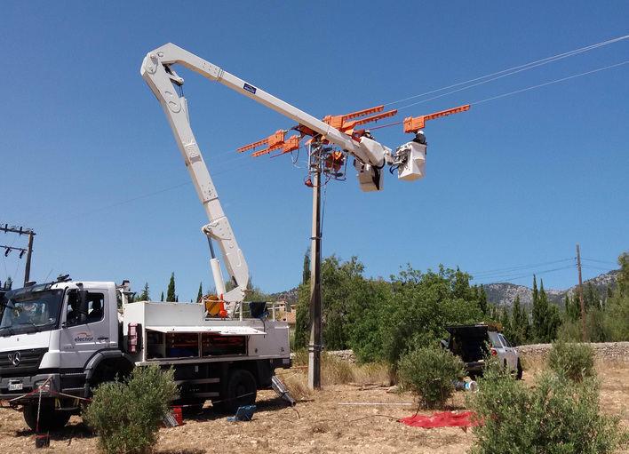 Endesa adapta 74 puntos de su red eléctrica en Baleares para proteger las aves