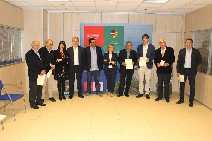 Eroski, comprometido con la comercialización y promoción de alimentos con D.O. de las Islas Baleares