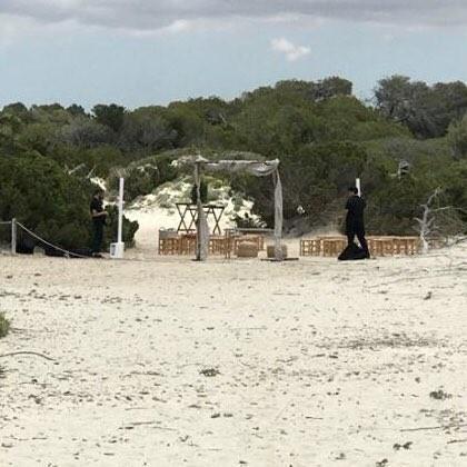 Terraferida censura la celebración de una boda en las dunas protegidas de Es Trenc