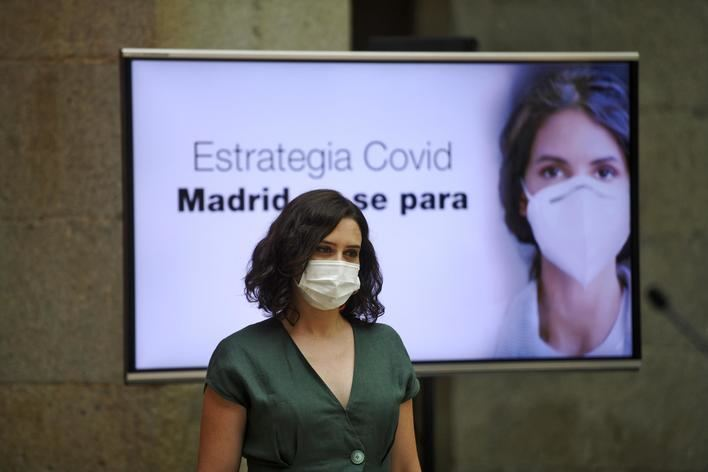 La mascarilla ya es obligatoria en Madrid
