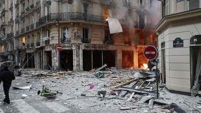 Varios heridos tras una explosión en una panadería del centro de París