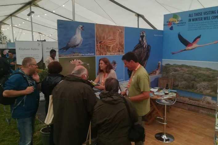 El Consell promociona Mallorca como un destino de turismo de naturaleza en la feria 'Birdfair'