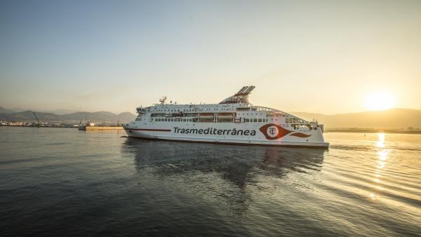 El Grupo Armas Trasmediterránea estrena el ferry más moderno de Europa