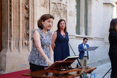 Fina Santiago confirma que dejará su acta de diputada en el Parlament