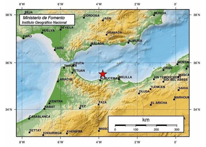 Un terremoto de 6,3 sacude Melilla y parte de Andalucía