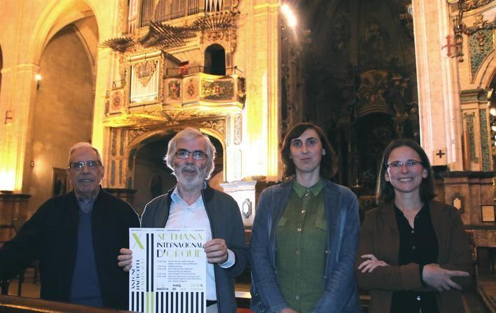 La basílica de Sant Francesc de Palma acoge la XII Semana Internacional de Órgano